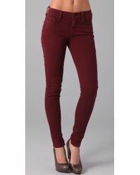 James Jeans Twiggy Brushed Twill Legging Jeans - Lyst