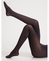 Wolford Velvet De Luxe Opaque 66 Tights - Lyst