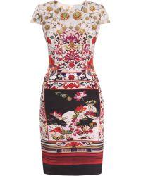 Mary Katrantzou Lily Pond Silk Dress - Lyst