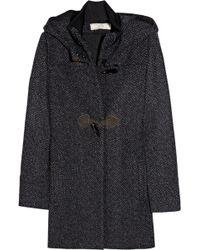 Vanessa Bruno Athé - Wool-blend Hooded Duffel Coat - Lyst