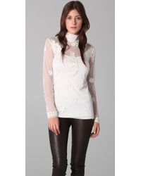 Alice By Temperley   Evelyn Top   Lyst