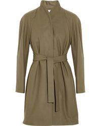 Cacharel Wool Coat - Lyst