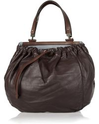 Marni Two-in-one Leather Shoulder Bag - Lyst