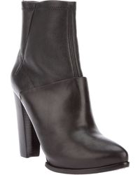 McQ by Alexander McQueen Leather Ankle Boot - Lyst