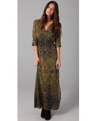 Twelfth Street Cynthia Vincent Dolman Maxi Dress - Green