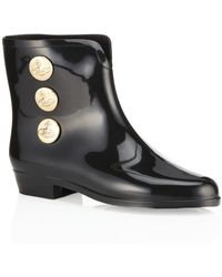 Melissa + Vivienne Westwood Anglomania - Button Patent Boot - Lyst