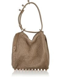 Alexander Wang Angela Textured-leather Bag - Lyst