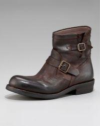 Ralph Lauren - Garett Distressed Boot - Lyst
