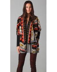 Dolan - Collared Blanket Cardigan - Lyst