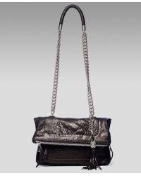 Olivia Harris - Zip-pocket Fold-over Shoulder Bag - Lyst