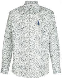 Peter Jensen   Digital Print Shirt   Lyst