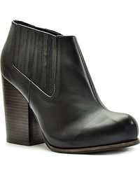 Jeffrey Campbell Clift - Leather Ankle Bootie - Lyst