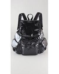 LeSportsac Black Opal Voyager Backpack