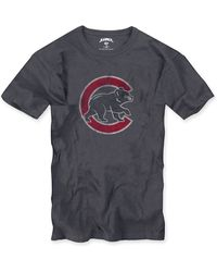 Banner 47 Chicago Cubs Regular Fit Slubbed T-shirt (men) - Lyst