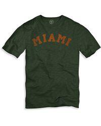 Banner 47 Miami Regular Fit Crewneck T-shirt (men) - Lyst