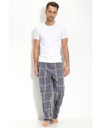Burberry Check Pajama Set, Gray gray - Lyst