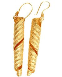 Chic Jewel Couture Papyrus Earrings - Lyst