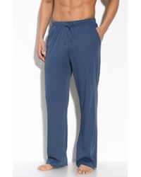 Daniel Buchler Heathered Lounge Pants In Gray For Men