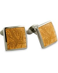 David Donahue Sterling Silver Cuff Links - Lyst