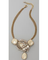 Erickson Beamon - Gold Digger Necklace - Lyst
