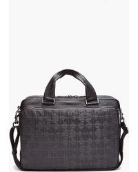 Givenchy Logo Briefcase - Black