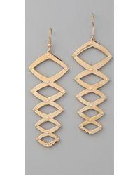 House of Harlow 1960 - Geometric Dangle Earrings - Lyst