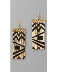 House of Harlow 1960 - Fringe Earrings - Lyst