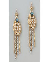 Juicy Couture - Wing Linear Earrings - Lyst
