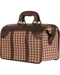 Topshop Monogramme Holdall - Lyst