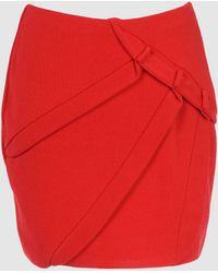 Amaya Arzuaga Mini Skirt - Lyst