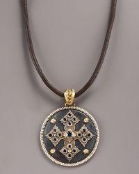 Armenta | Midnight Cross Necklace | Lyst