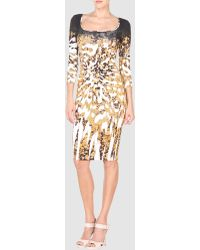 Just Cavalli 3 4 Length Dresses - Lyst