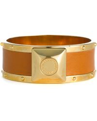 Marc By Marc Jacobs Concrete Jungle Skinny Leather Bangle - Lyst