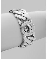 Marc By Marc Jacobs Katie Turnlock Bracelet/Silver - Lyst