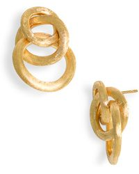 Marco Bicego Women'S 'Jaipur' Cluster Earrings - Yellow Gold - Lyst
