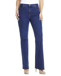 Not Your Daughter's Jeans - Not Your Daughters Jeans Bootcut Jeans Blue - Lyst