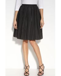 St. John Evening Taffeta Skirt - Lyst