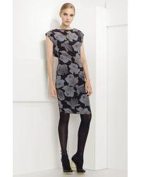 Lanvin Cowl Back Silk Dress - Lyst