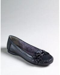 Ak Anne Klein Black Kyte Loafers - Lyst