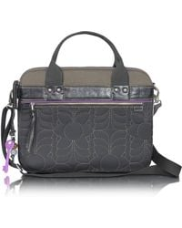 Fossil Key Per - Quilted Laptop Tote in Black   Lyst : quilted laptop tote - Adamdwight.com