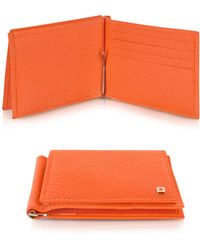 Giorgio Fedon - Wall Street - Mens Leather Card Holder W/money Clip - Lyst