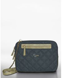 Guess Groovy Quilted Laptop Case - Lyst