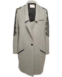 Jason Wu - Richelieu A Lace-trim Coat - Lyst