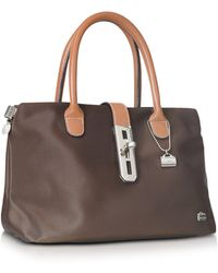 La Bagagerie Shopping X - Tote Bag - Brown