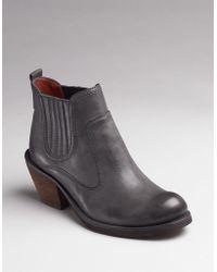 Luxury Rebel - Brandon Western Ankle Boots - Lyst