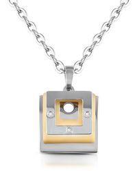 Makuti - Central Diamond 18k Gold Cufflinks - Lyst