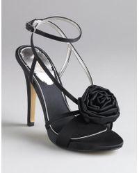 Max Studio - Erbay Rosette-detail Sandals - Lyst