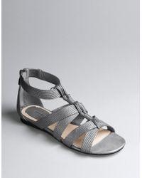 Max Studio - Stuart Strappy Flat Sandals - Lyst