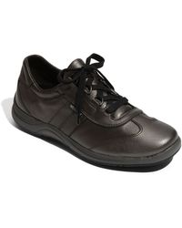 Mephisto Perforated Walking Shoe - Lyst