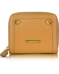 Moreschi - Signature Leather French Purse Wallet - Lyst
